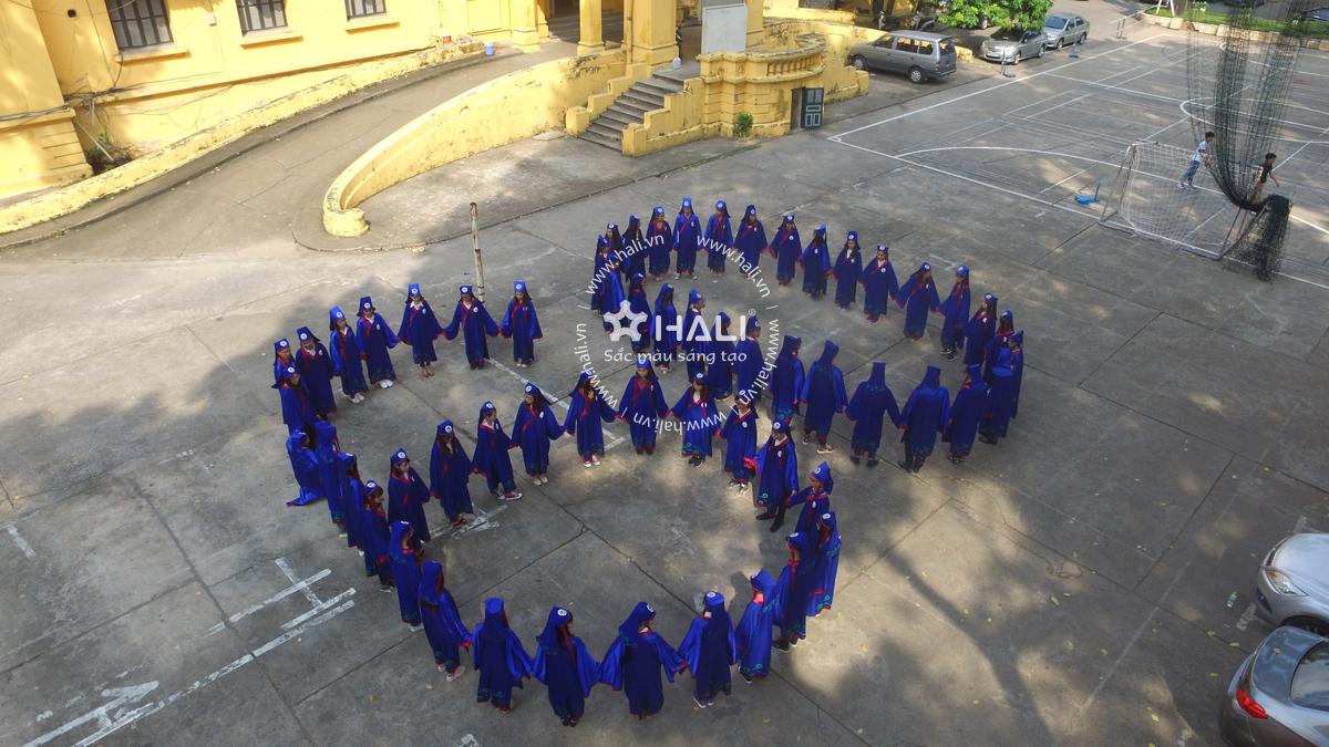Chụp ảnh kỷ yếu HNU 09