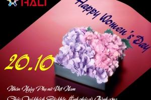 Mừng ngày Phụ nữ Việt Nam 20 – 10