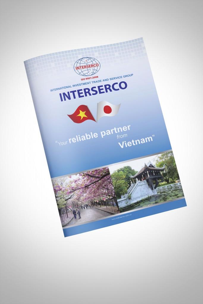 Thiết kế Catalogue Interserco