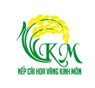 thiết kế logo thương hiệu nếp cái hoa vàng Kinh Môn