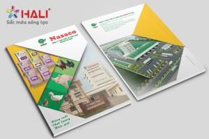 Thiết kế profile Công ty Nasaco Hà Nam