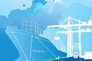 Mẫu thiết kế Báo cáo thường niên Công ty Cổ phần Cảng Đình Vũ