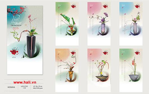 Lịch Tết hoa xuân