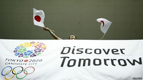 Thiết kế logo Thế vận hội Tokyo 2020