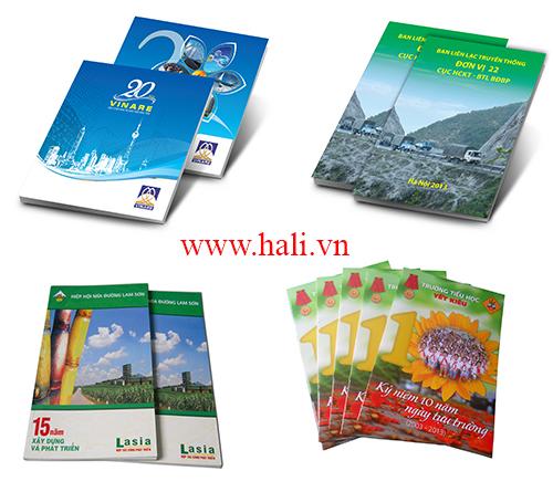 Thiết kế kỷ yếu công ty Hali