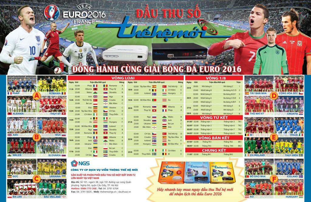 LICH THI DAU EURO 2016