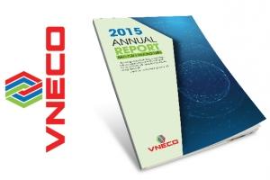 Mẫu thiết kế Báo cáo thường niên Tổng công ty VNECO