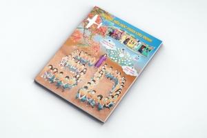 Mẫu thiết kế kỷ yếu Trường tiểu học Phan Chu Trinh