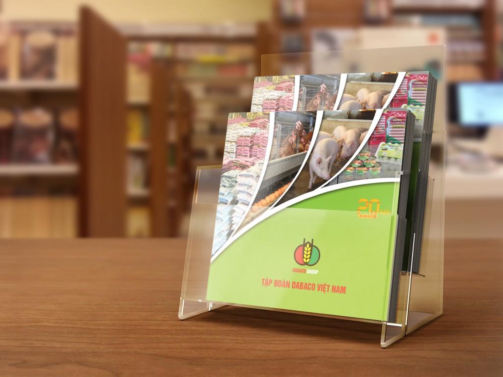 Thiết kế Catalogue Tập đoàn DABACO Việt Nam