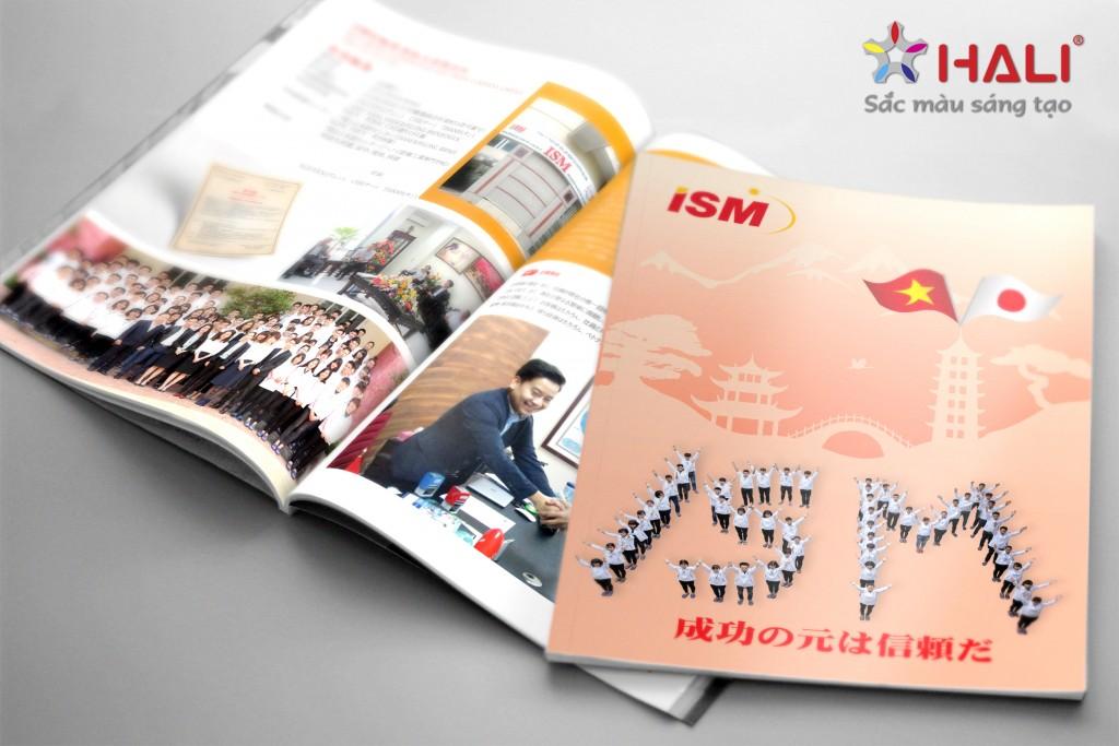 Thiết kế Brochure Công ty ISM
