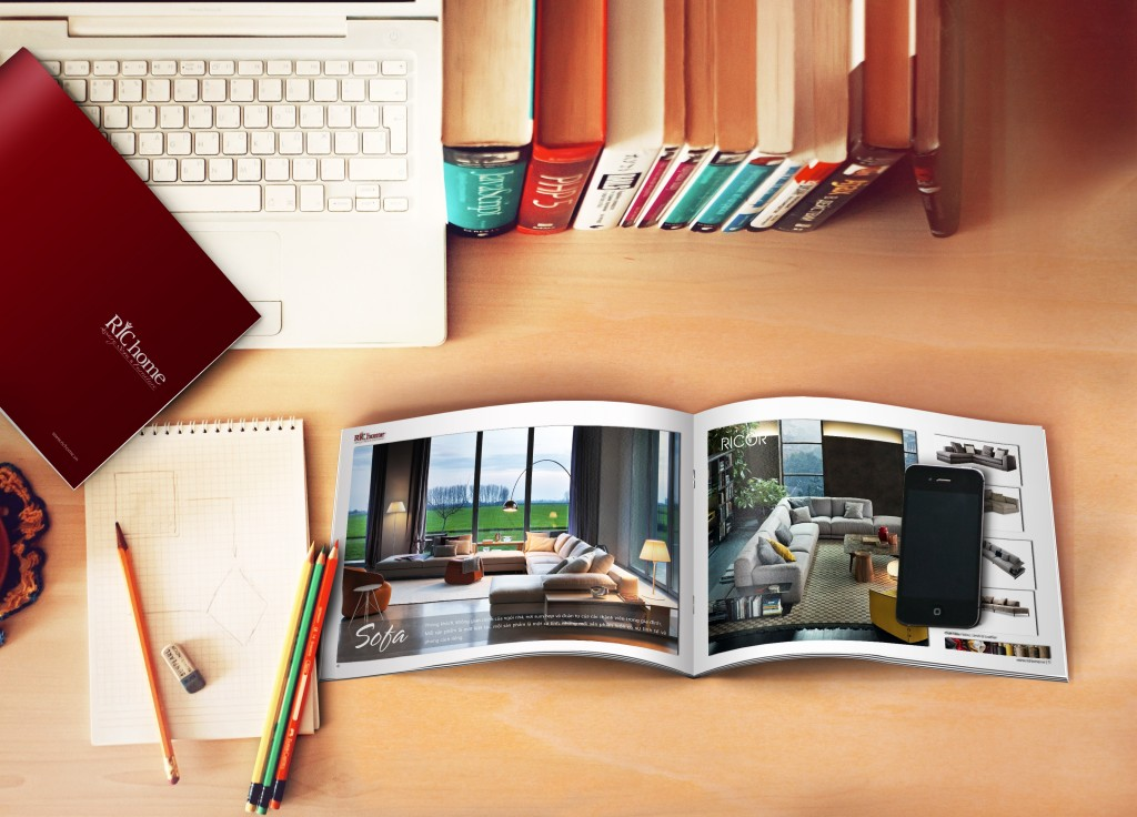 Thiết kế Catalogue Richome