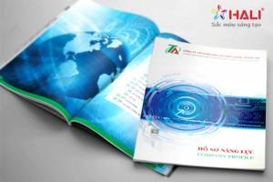 Thiết kế Profile Công ty cổ phần đầu tư công nghệ Thành An