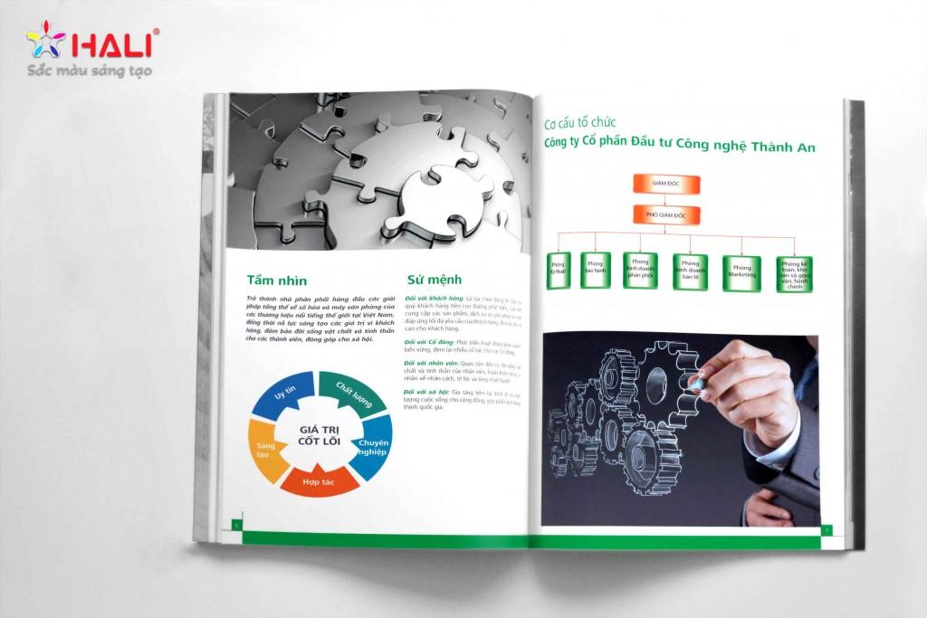 thiết kế profile Công ty cổ phần dịch vụ viễn thông Thế Hệ Mới