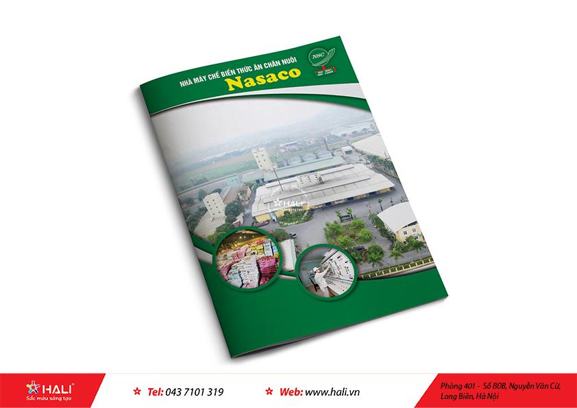 Thiết kế profile Nhà máy chế biến thức ăn chăn nuôi NASACO
