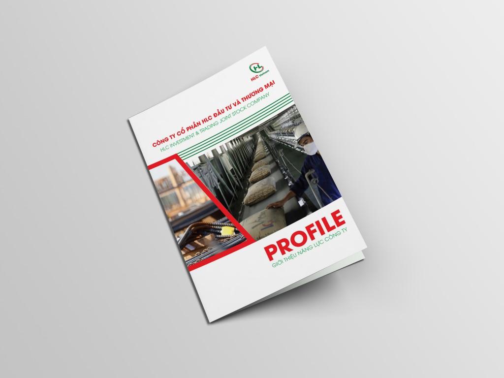 Thiết kế Profile Công ty cổ phần HLC đầu tư và thương mại