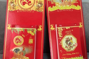 Mẫu lịch bloc 2018 – In lịch Tết Hali