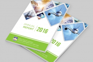 Thiết kế Báo cáo thường niên Vinare 2016