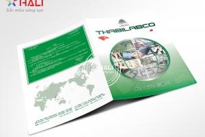 Thiết kế Brochure Thabilabco 2018