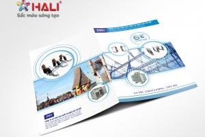 Thiết kế Brochure Thiết bị điện Minh Hùng