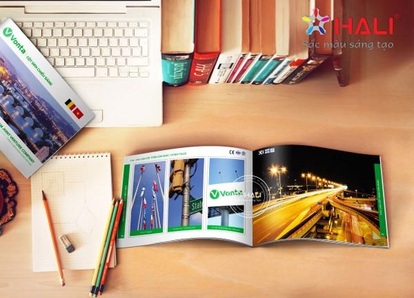 Mẫu thiết kế catalogue RichHome tại Hali