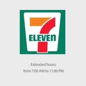 Thương hiệu Seven Eleven đặt tên theo giờ mở cửa công ty