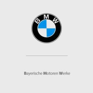 BMW là viết tắt của Bayerische Motoren Werke (Tập đoàn ô tô của vùng Bavaria)