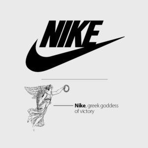 Tên thương hiệu Nike đặt theo tên nữ thần chiến thắng Hy Lạp