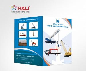 Thiết kế Brochure Công ty TNHH Thiết bị xây dựng Minh Hùng