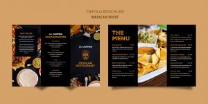 Mẫu thiết kế brochure đẹp.