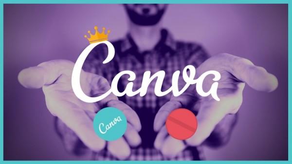 Phần mềm thiết kế Canva.