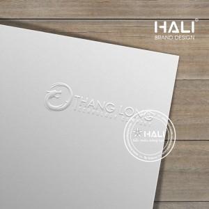 Mẫu thiết kế logo Thăng Long Technology tại Hali.
