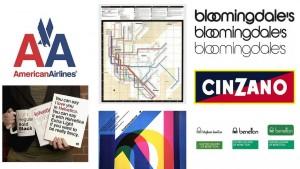 Tác phẩm tiêu biểu của nhà thiết kế nổi tiếng thế giới Massimo Vignelli.