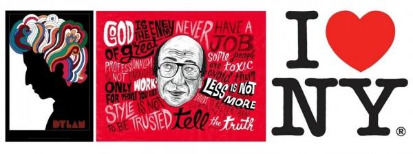 Tác phẩm tiêu biểu của nhà thiết kế nổi tiếng thế giới Milton Glaser.
