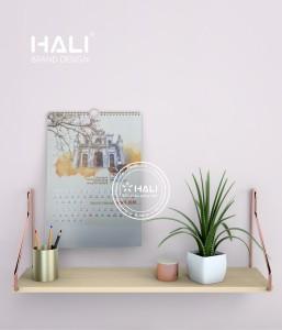 Mẫu thiết kế lịch tết tại Hali.