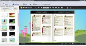 Phần mềm thiết kế catalogue trực tuyến FlipBuilder.