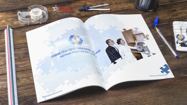 Mẫu thiết kế báo cáo thường niên 2018.