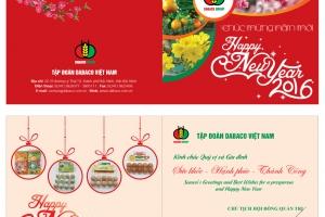 Thiết kế thiệp chúc mừng năm mới 'thay lời muốn nói'