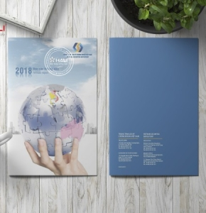 Thiết kế báo cáo thường niên 2018 của Trung tâm lưu ký chứng khoán VSD