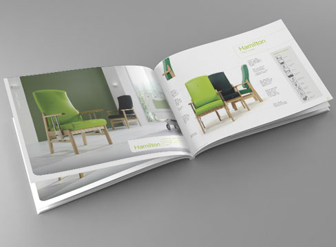 Mẫu thiết kế catalogue đẹp.