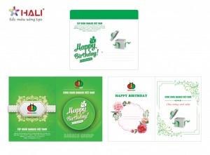 Thiết kế thiệp sinh nhật độc quyền tại Hali.
