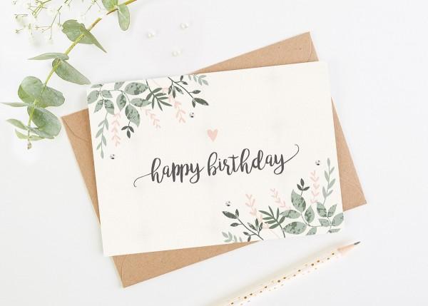 Thiết kế thiệp chúc mừng sinh nhật độc đáo.