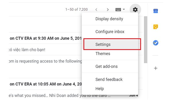 hướng dẫn thiết kế chữ ký email bằng Gmail