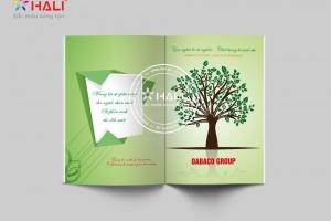 Thiết kế profile Tập đoàn Dabaco