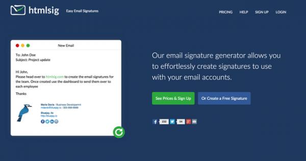 hướng dẫn thiết kế chữ ký email trực tuyến