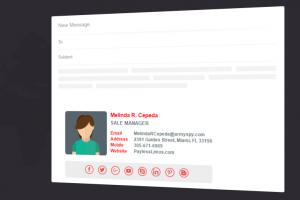 Hướng dẫn thiết kế chữ ký email đơn giản đẹp mắt