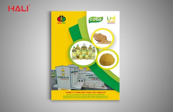 thiết kế profile dầu thực vật coba