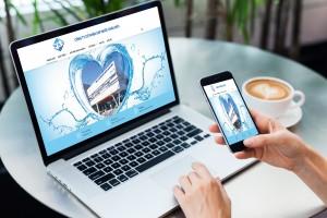 Mẫu thiết kế website công ty cấp nước thu hút mọi ánh nhìn