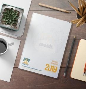 Đổi mới phong cách thiết kế báo cáo thường niên VINARE 2019
