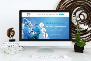 Thiết kế website nha khoa chuẩn SEO đẹp mắt