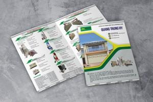 Thiết kế brochure Quang Trung HY